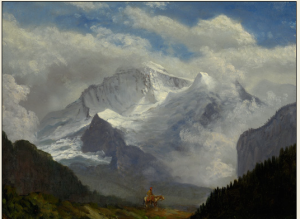 "Albert Bierstadt's ""Above the Timberline"""