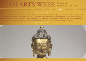 Homepage Asian Arts Week